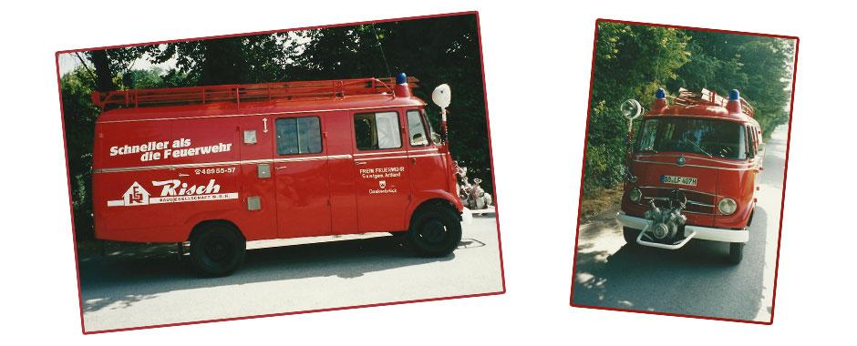 Uwe Risch Feuerwehrwagen